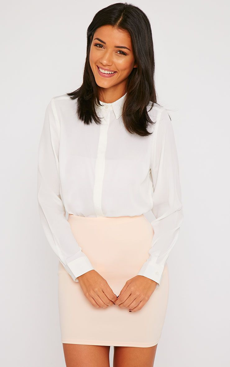 Rhonda Cream Shirt 1