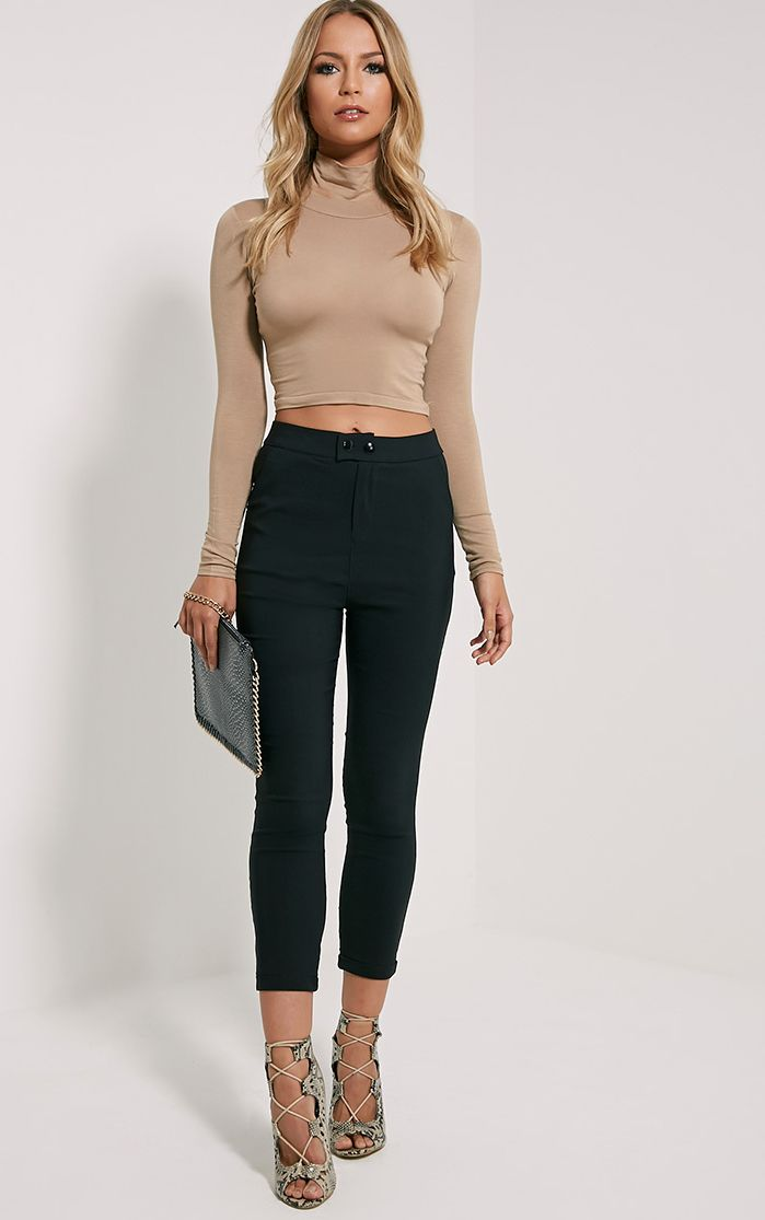 Simi Black High Waisted Jeggings