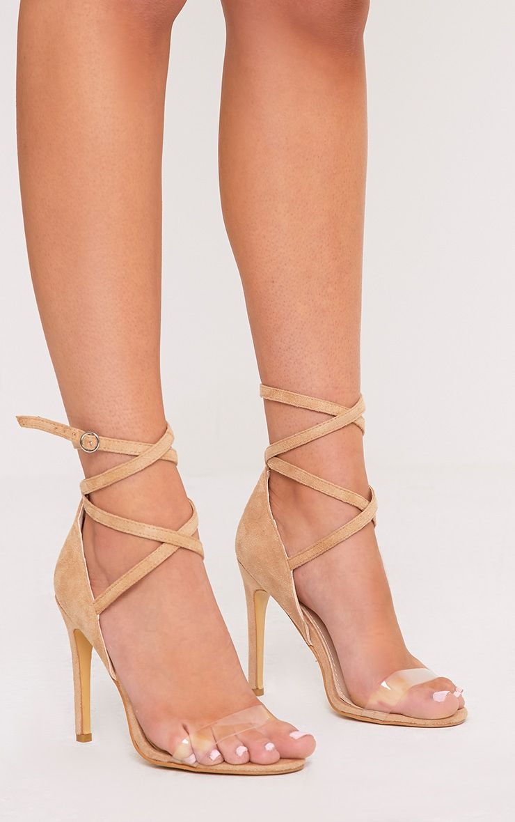 Renice Nude Strappy Heeled Sandals