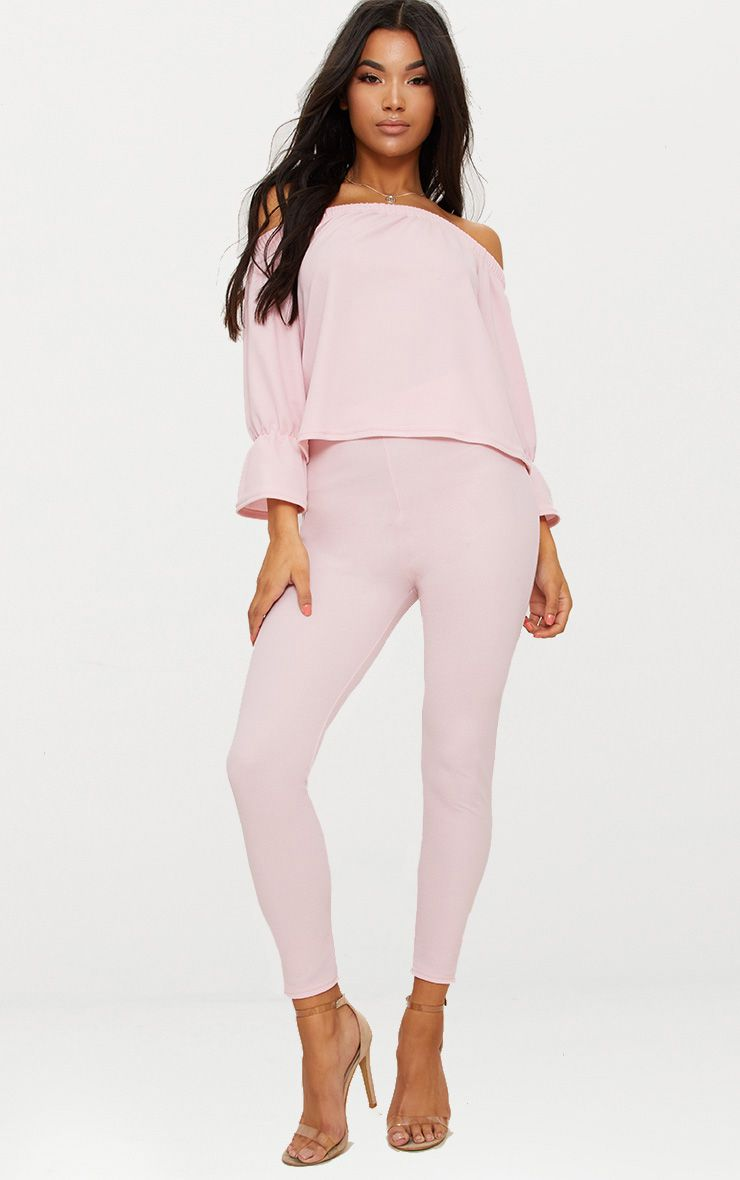 Dark Rose Cropped Trouser