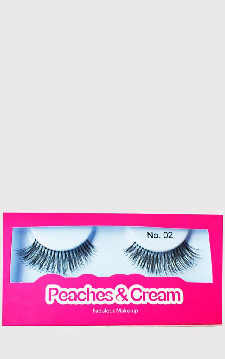 Peaches & Cream NO 2 False Eyelashes