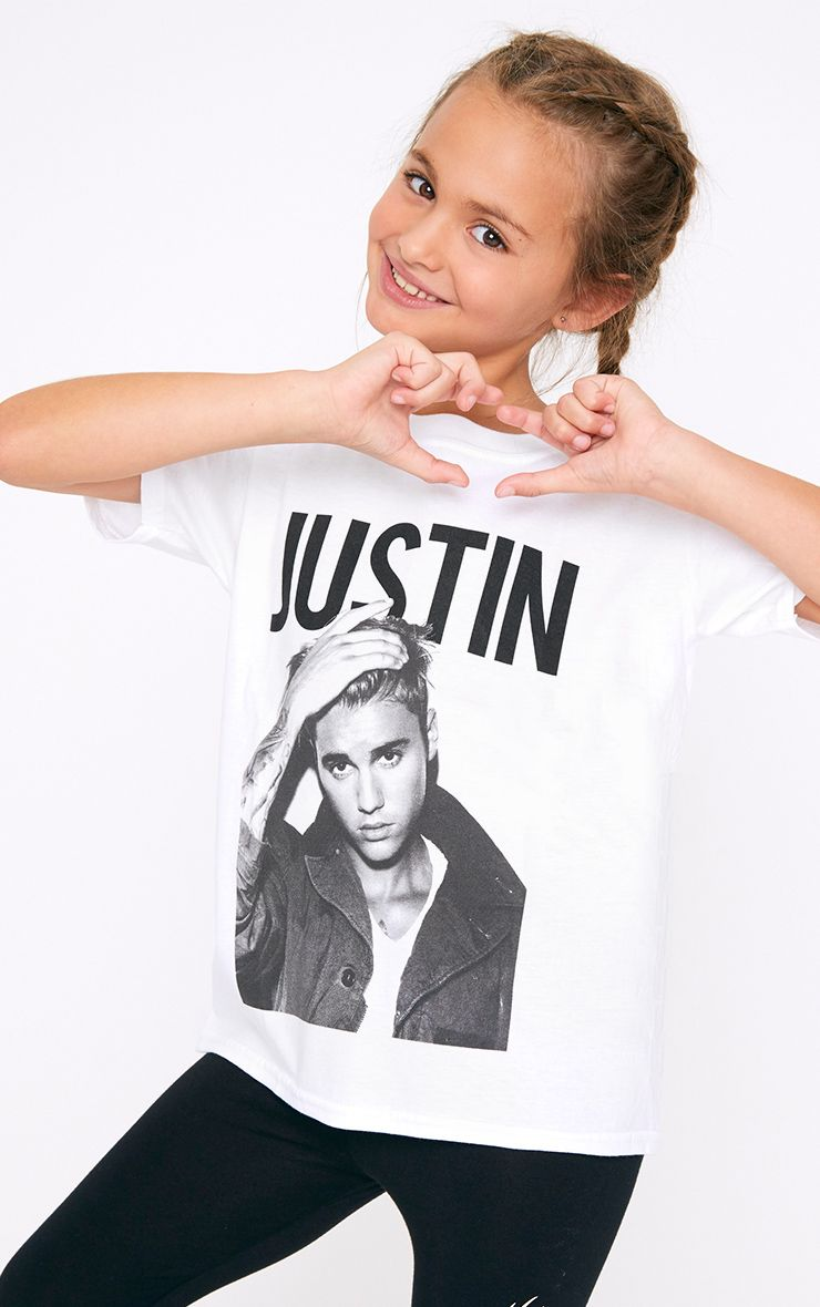 Justin Bieber White T Shirt