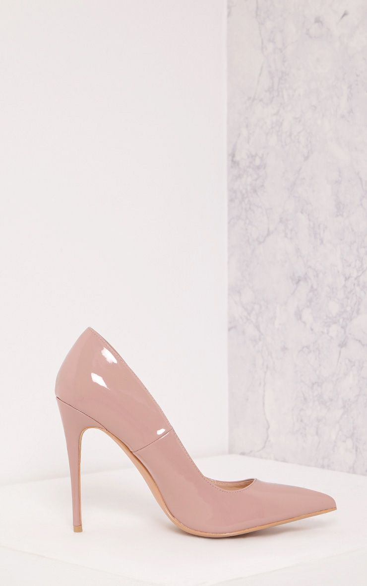 Karinna Rose Patent Pointed Heels 1