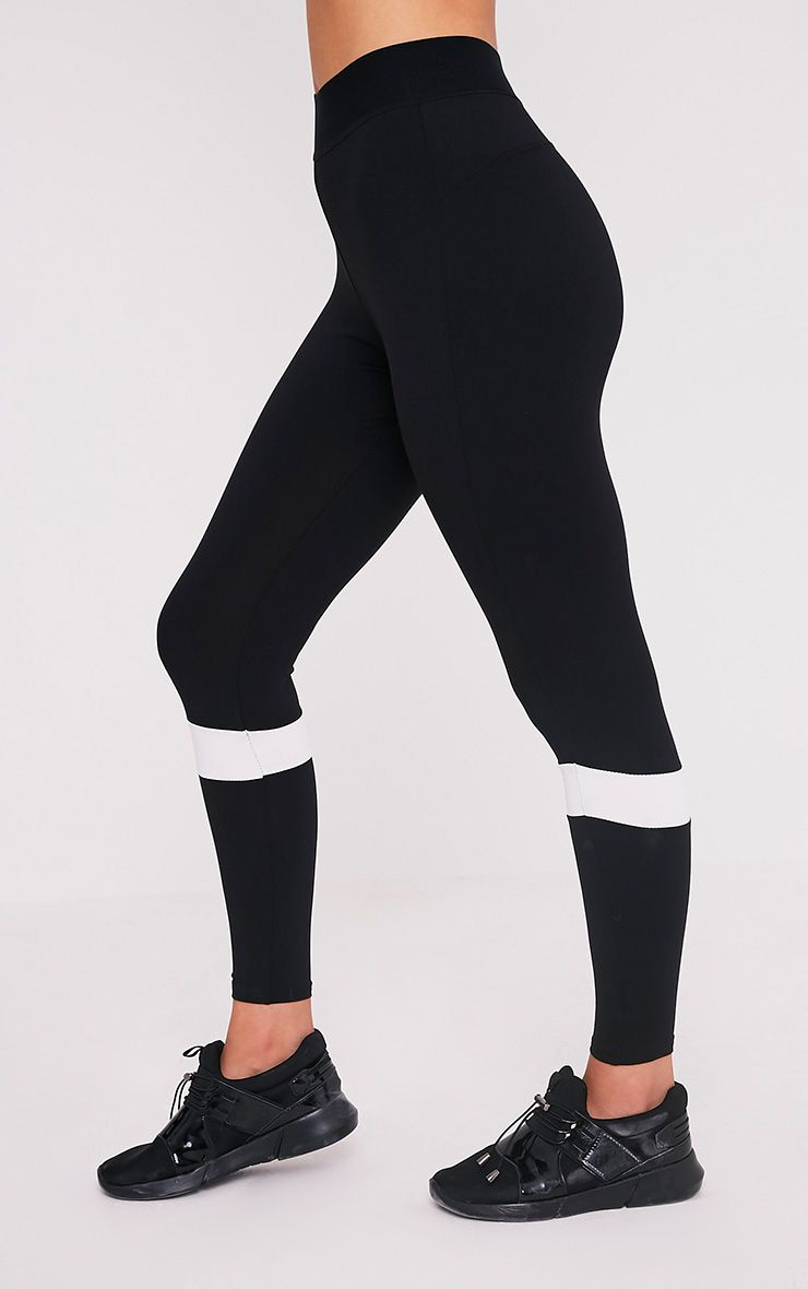 Grace legging de sport à empiècements noir 4