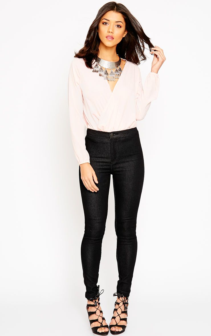 Este Black 2 Pocket High Waisted Jean 1