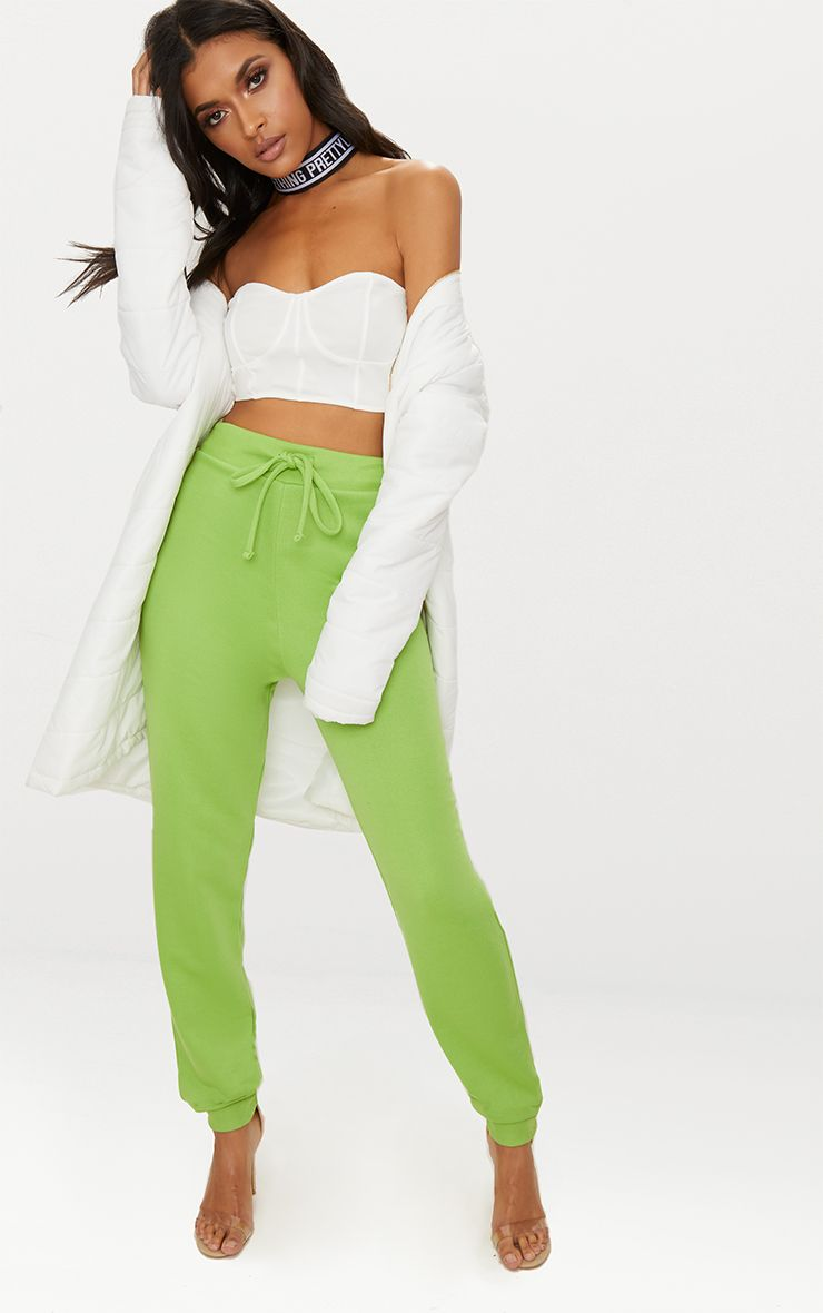 Pale Green Ultimate Sweat Joggers