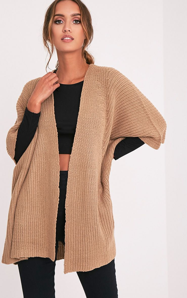 Lexie Tan Poncho Cardigan