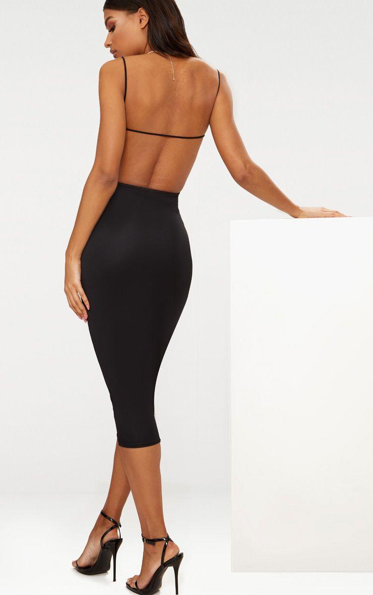 Midi Dresses Knee Length Dresses Prettylittlething Usa
