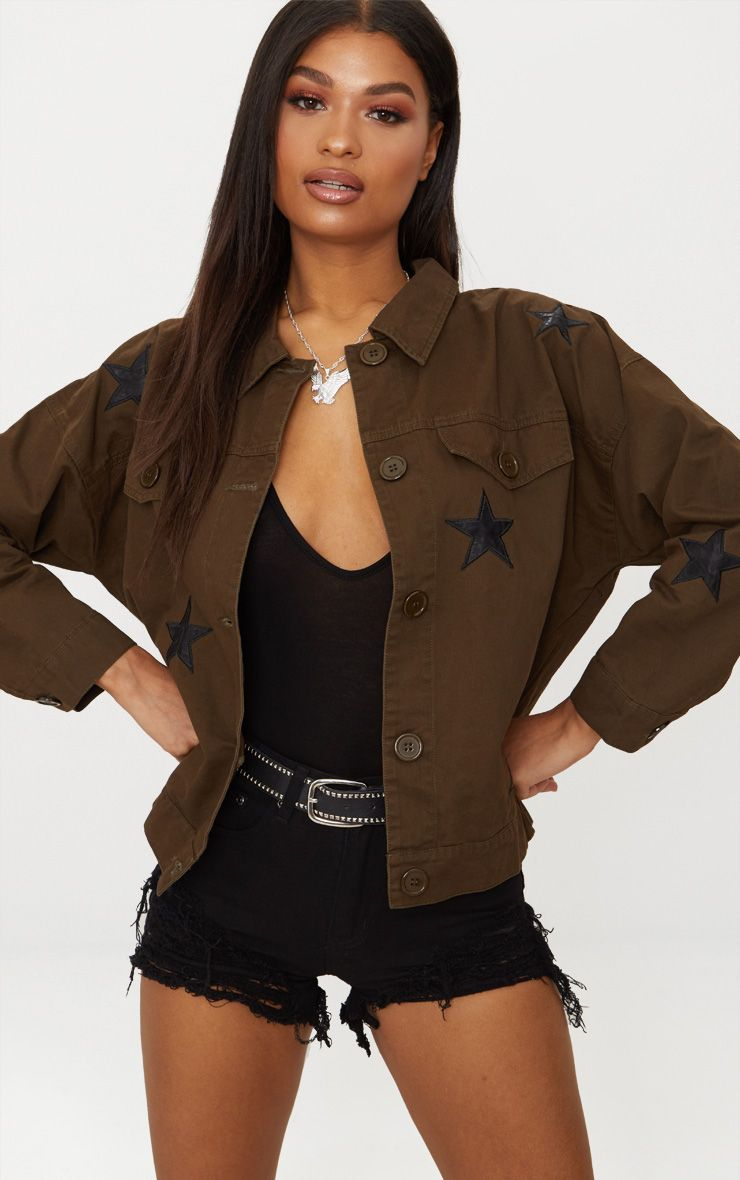 Khaki Star Utility Jacket