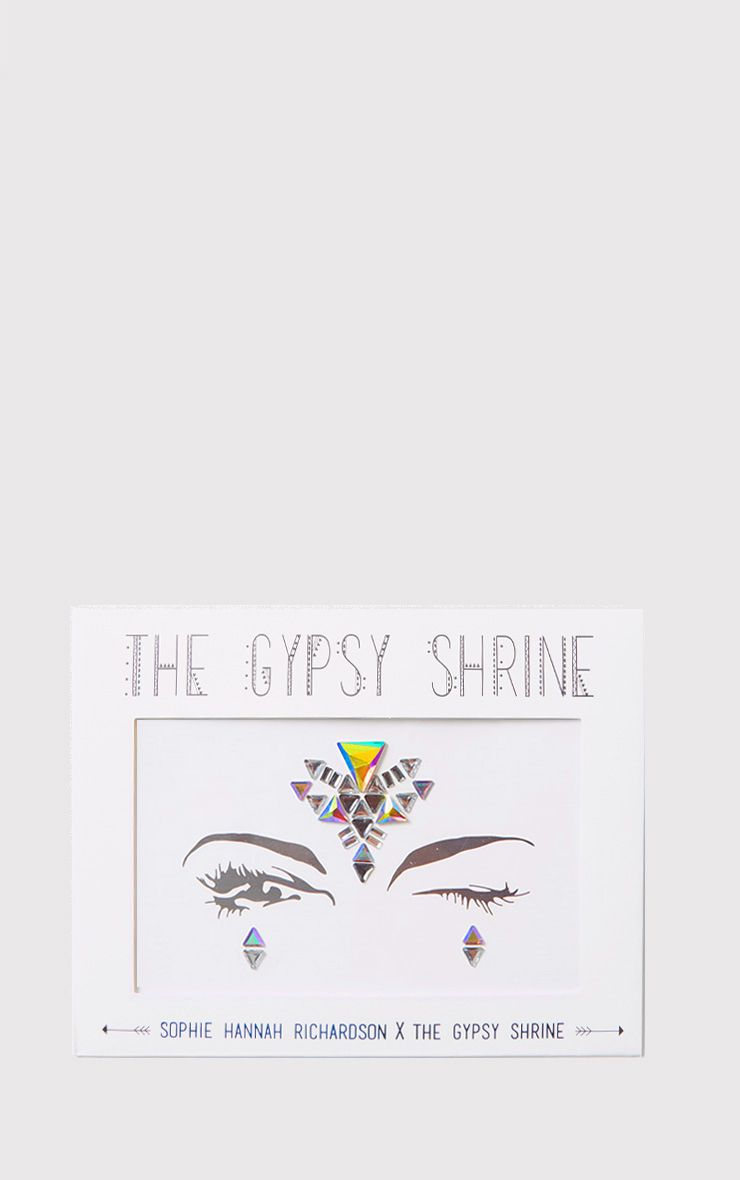The Gypsy Shrine Iridescent Geo Face Jewels