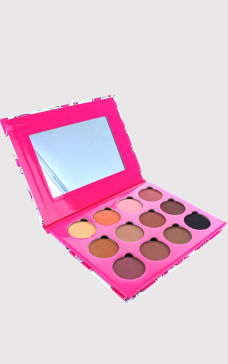 Peaches & Cream 12 Colour Eye Shadow Palette