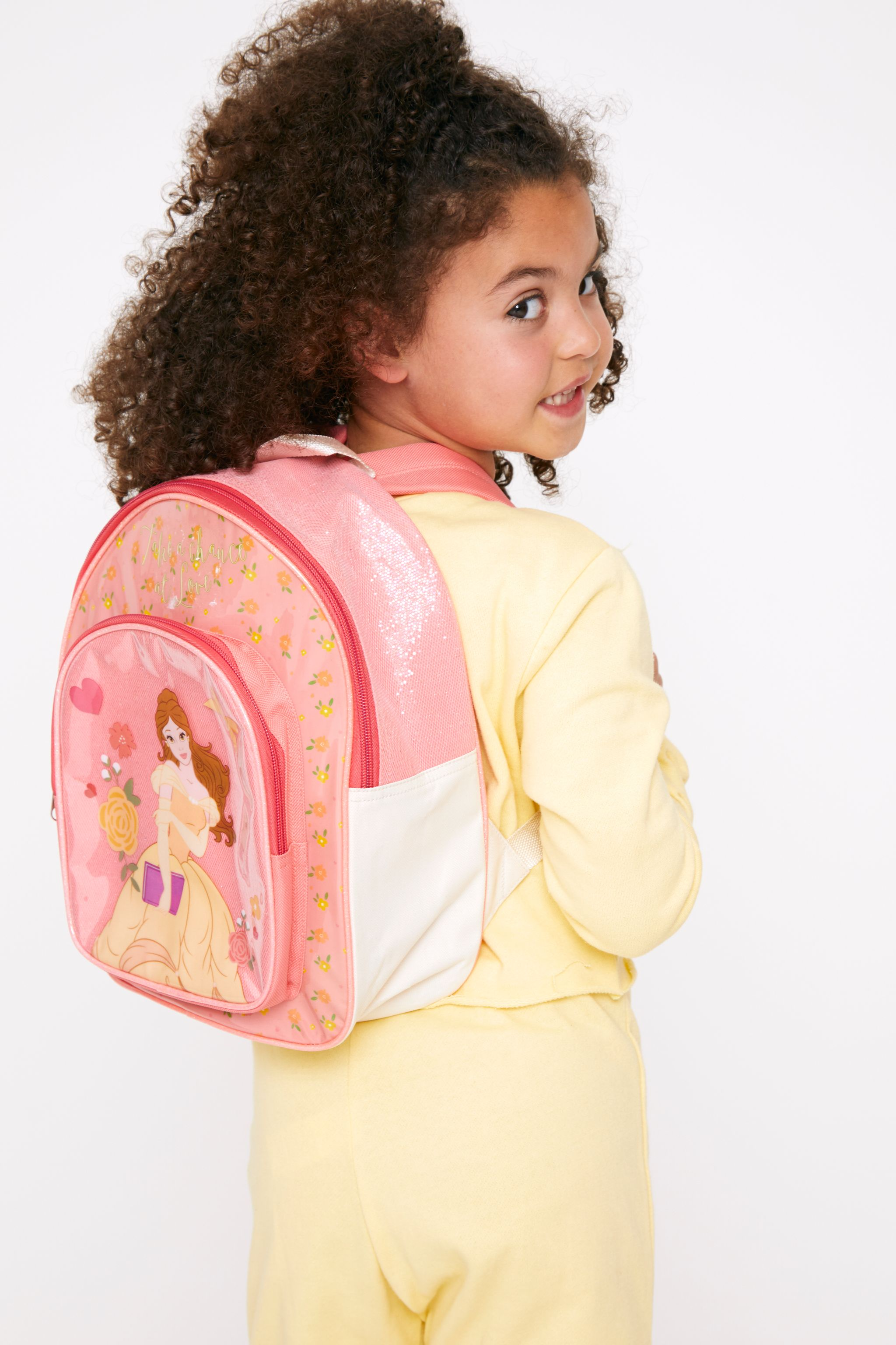 Disney Belle Pink Backpack