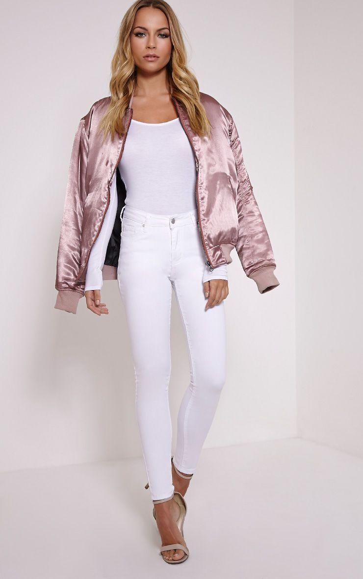 Dorla White Skinny Jean 1