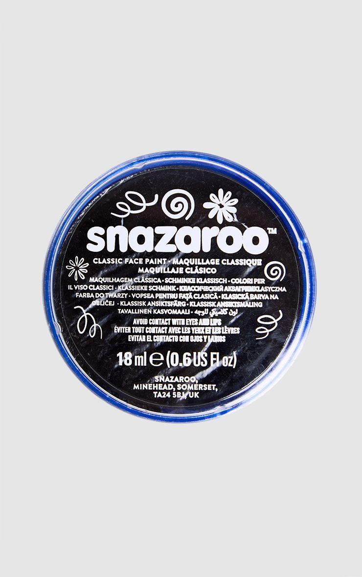 Peinture noire pour le visage Snazaroo pour Halloween