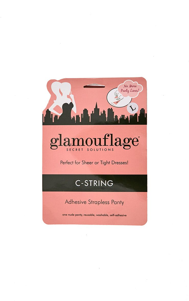 Glamouflage C-String Strapless Thong