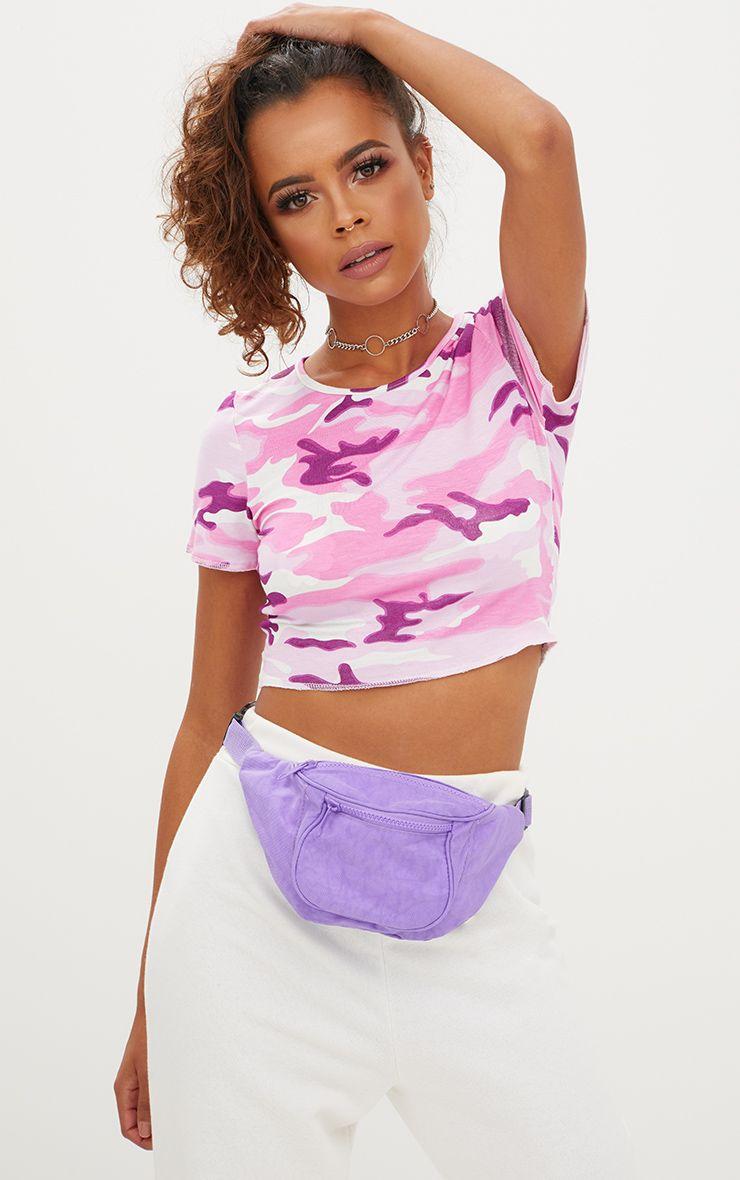 Purple Bum Bag