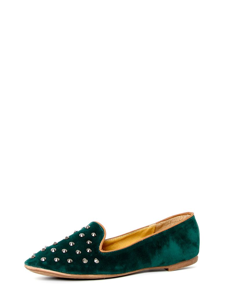 Harriet Green Studded Slipper Shoe 1