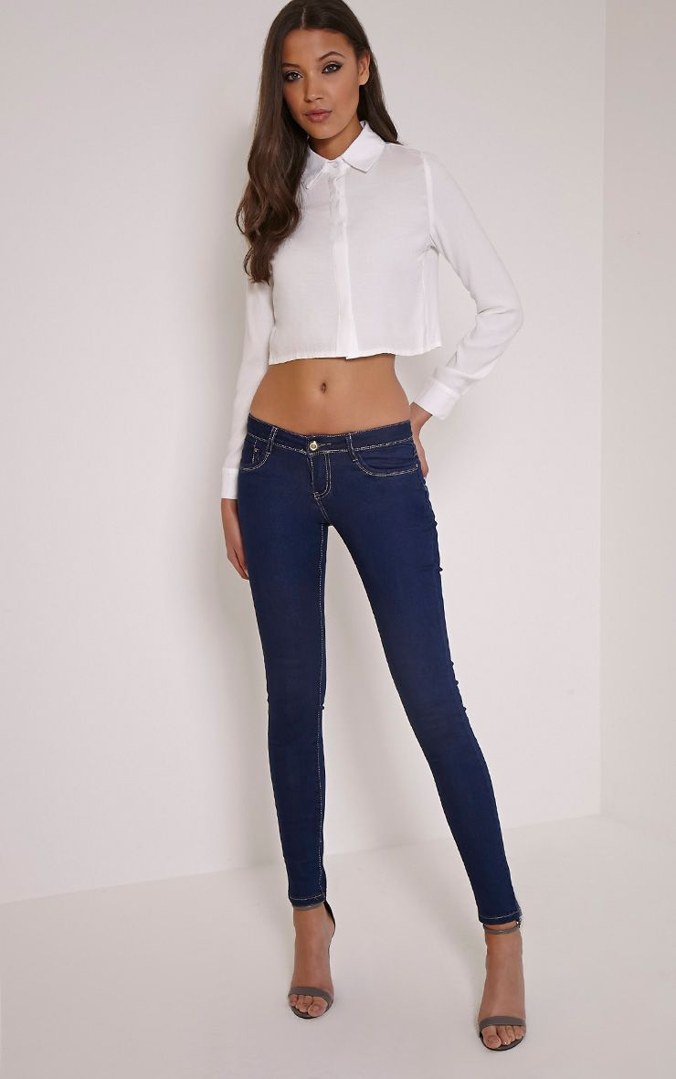 Carmel Blue Skinny Jean 1
