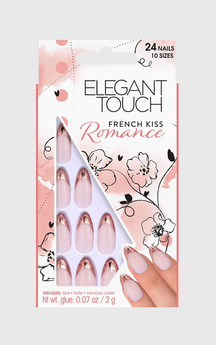 Elegant Touch French Kiss False Nails