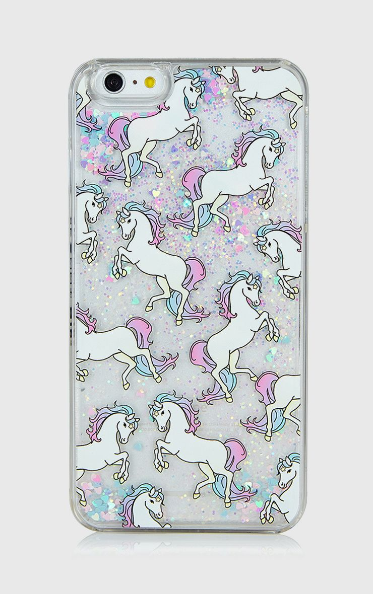 SkinnyDip Glitter Unicorn iPhone 6 Case