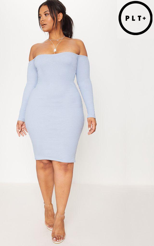 Bardot Dresses Off The Shoulder Dress Prettylittlething