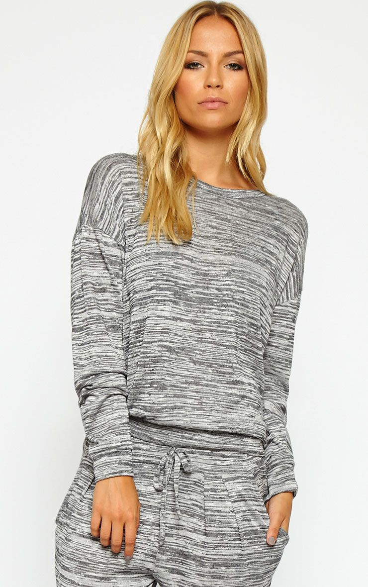 Daisy Grey Marl Sweater 1
