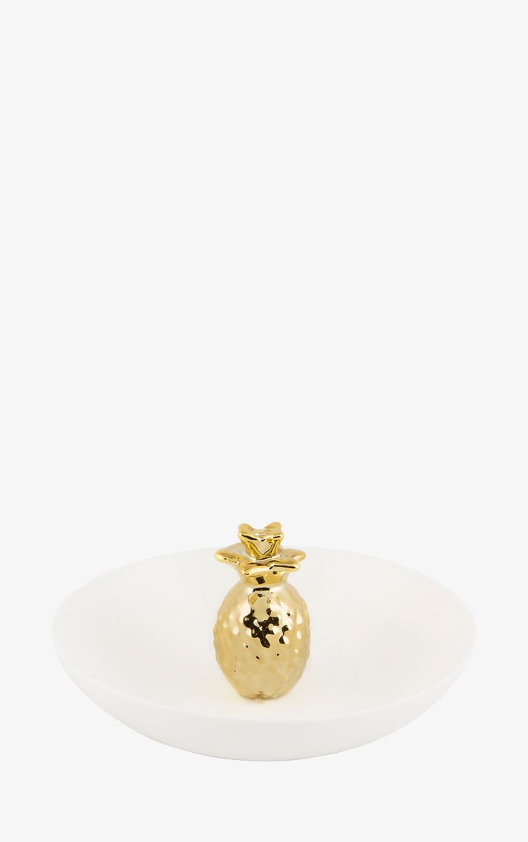 Sass & Belle Gold Pineapple Trinket Dish