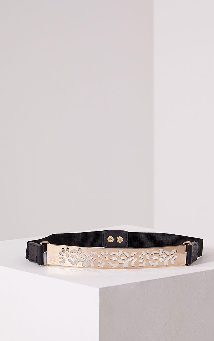 Petra Gold Cut Out Waist Belt 1