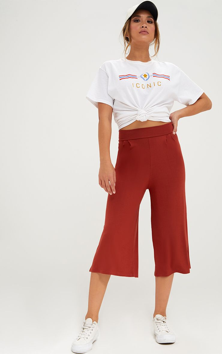 Rust Basic Culottes
