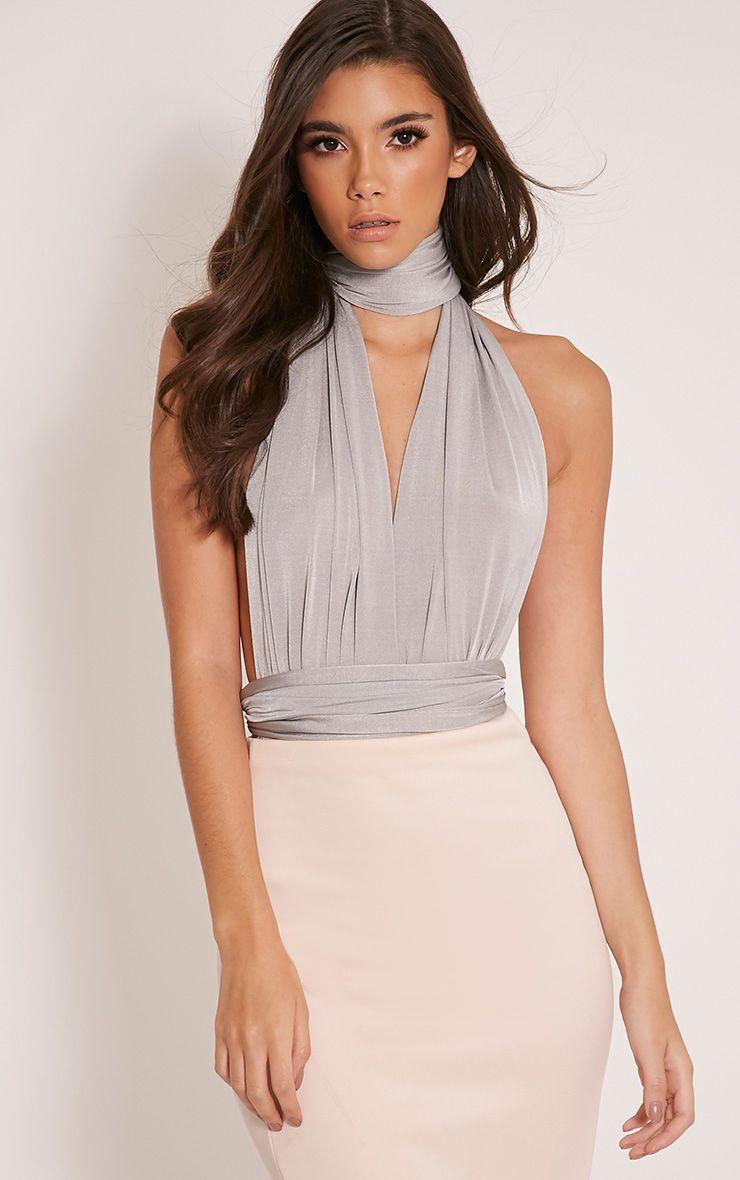 Liddia Silver Multiway Bodysuit 1