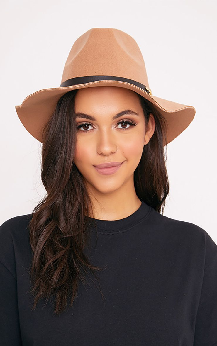 Honna Brown Fedora Hat