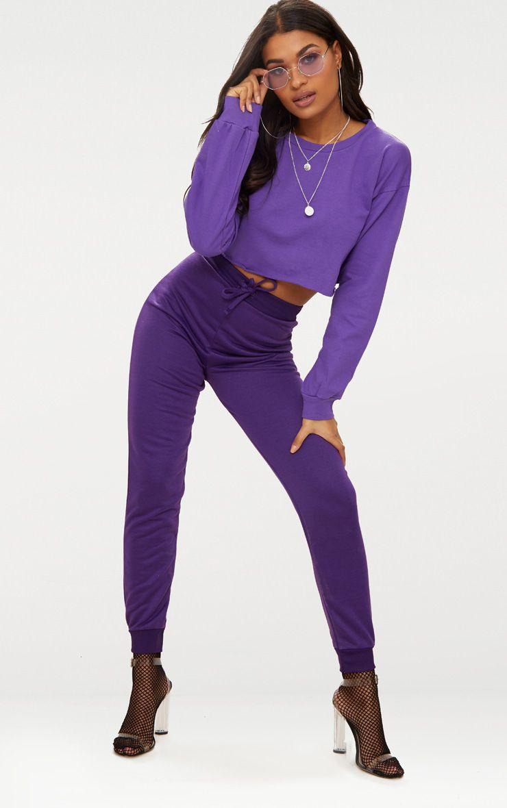 Purple Ultimate Sweat Joggers