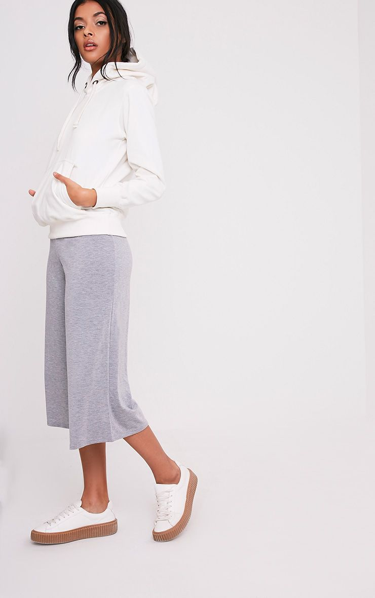 Basic Grey Culottes