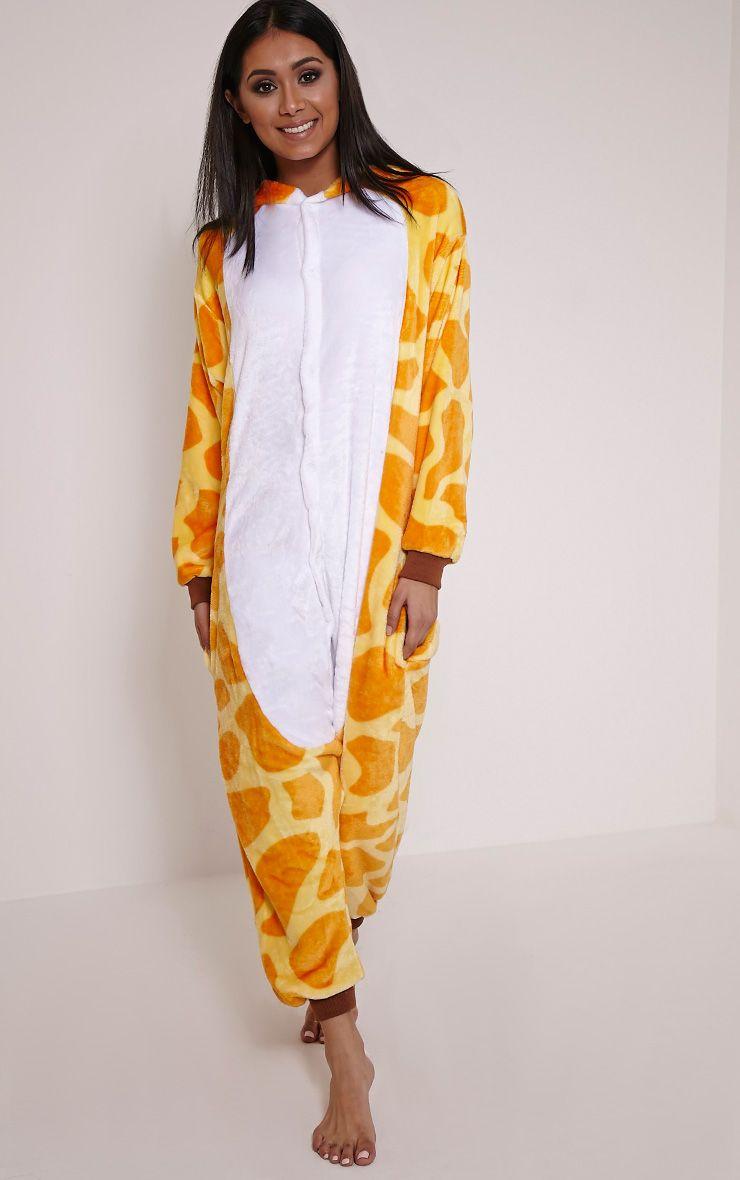 Giraffe Onesie 1