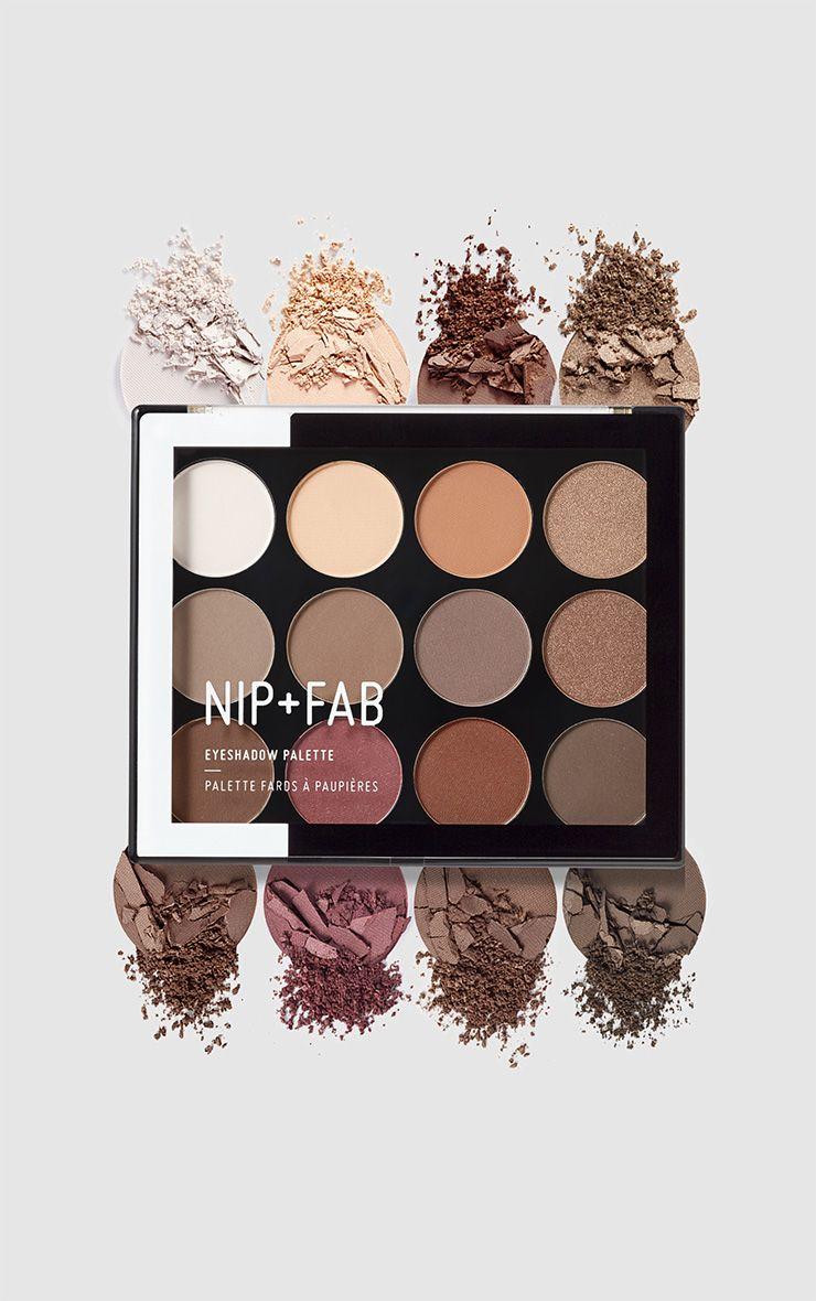 Nip & Fab Sculpted Eyeshadow Palette