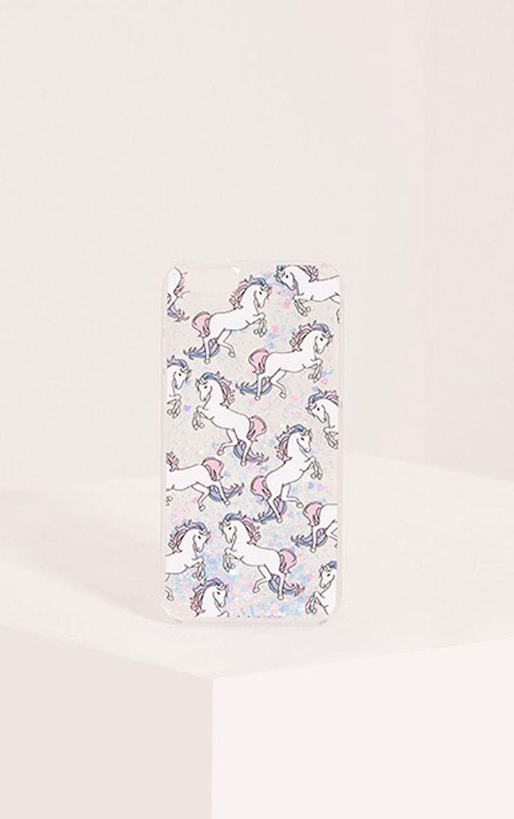 Glitter Unicorn Iphone 6 Plus Case 1