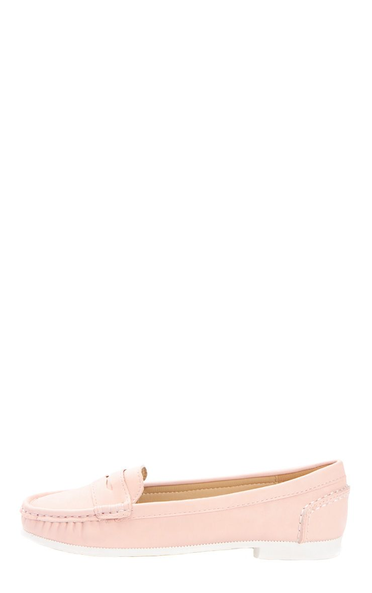 Greta Pink Suede Loafer  1