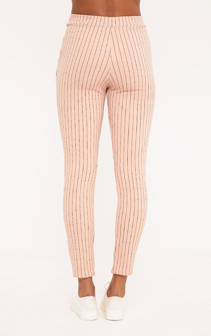 sage pantalon rayures rose p le pantalons. Black Bedroom Furniture Sets. Home Design Ideas