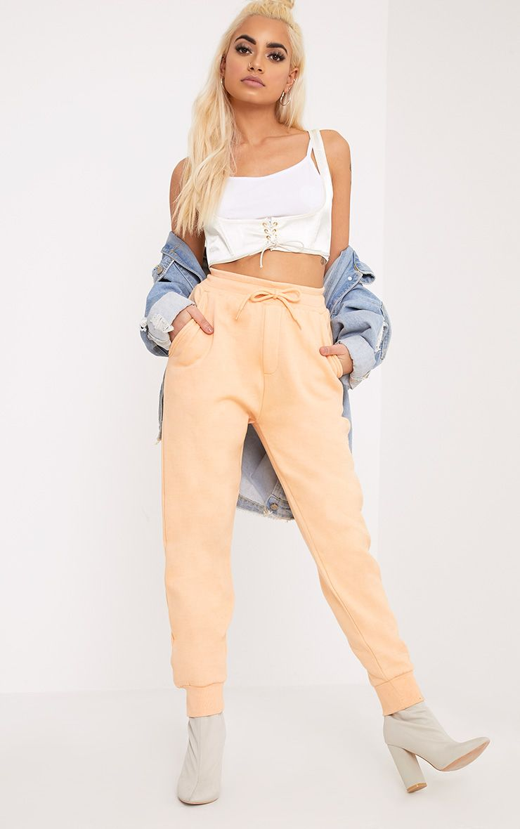 Bruna Peach Sweat Joggers
