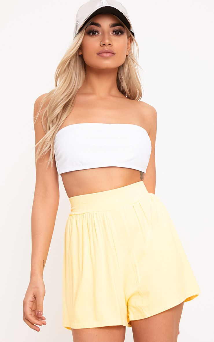 Lemon Jersey Floaty Shorts