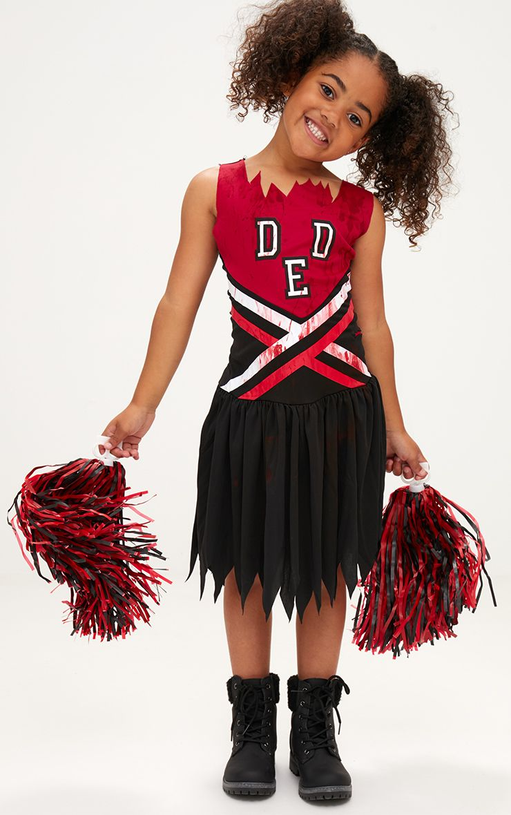 Zombie Cheerleader Halloween Costume