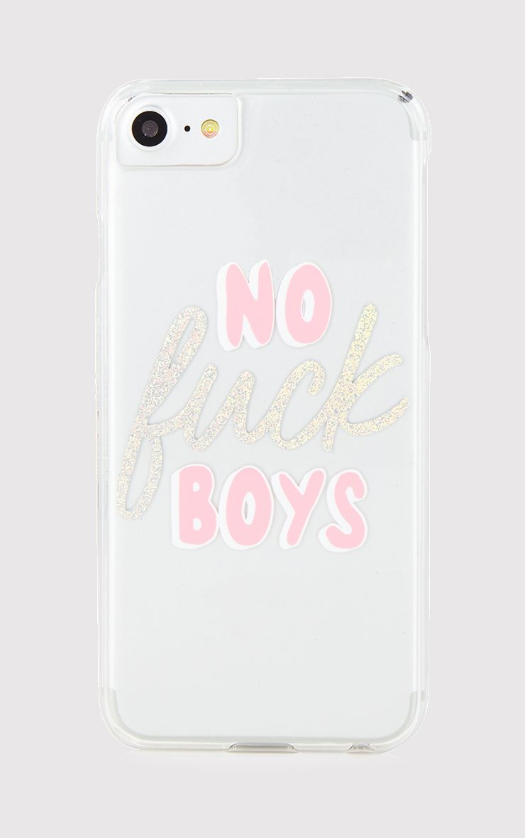 SkinnyDip No F*ck Boys iPhone 6/7 Case