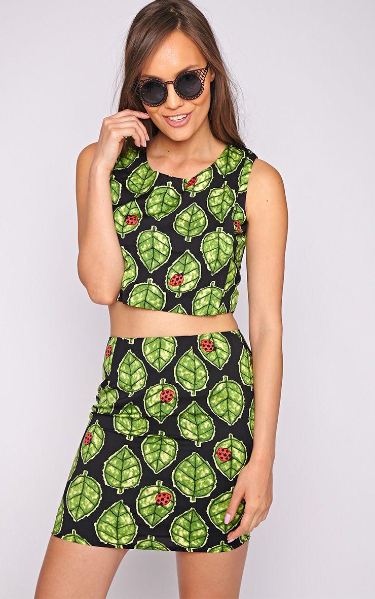 Audrey Ladybird Leaf Skirt 1