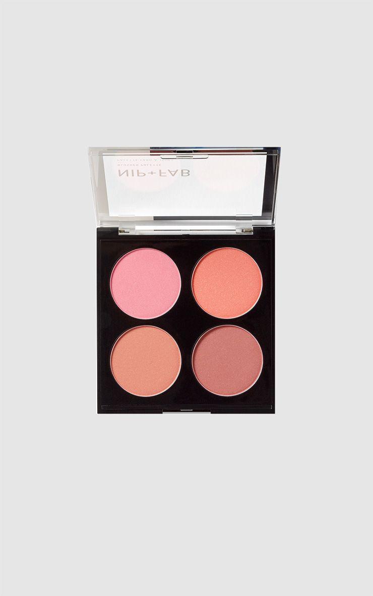 Nip & Fab Blushed Blusher Palette