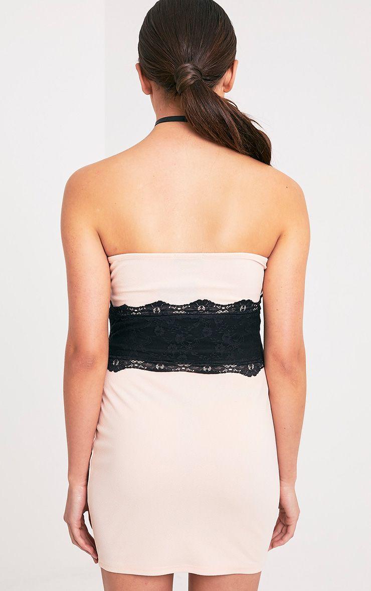 albanie robe bandeau couleur chair finition corset robes. Black Bedroom Furniture Sets. Home Design Ideas