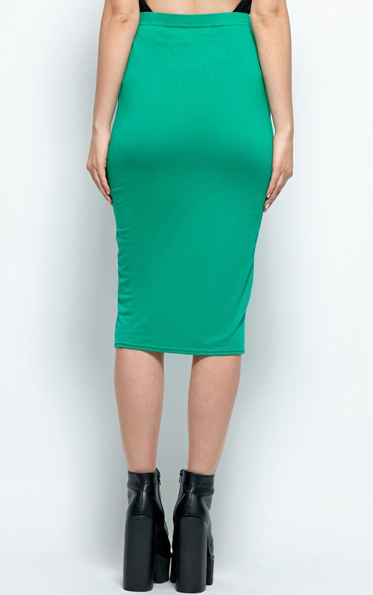 Elly Embellished Black Mini Skirt-L 1