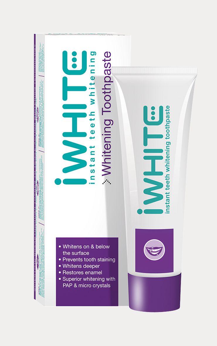 iWhite Instant Teeth Whitening Toothpaste