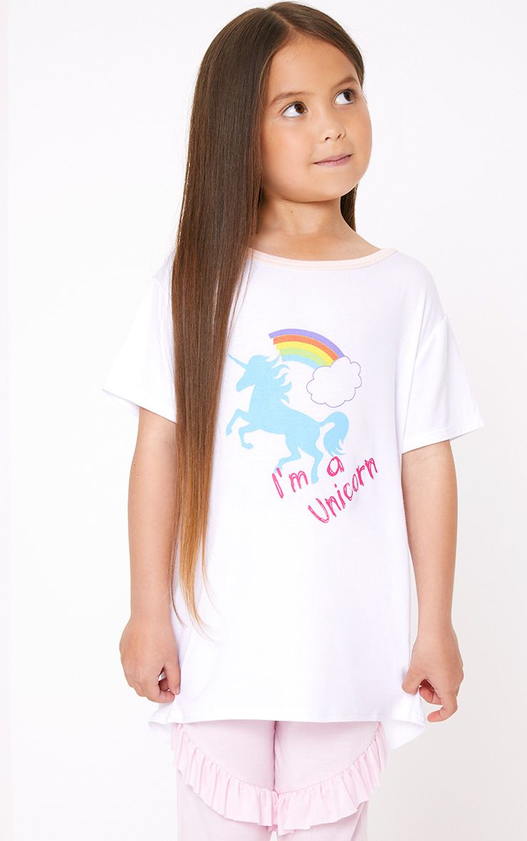 I'm A Unicorn White T Shirt