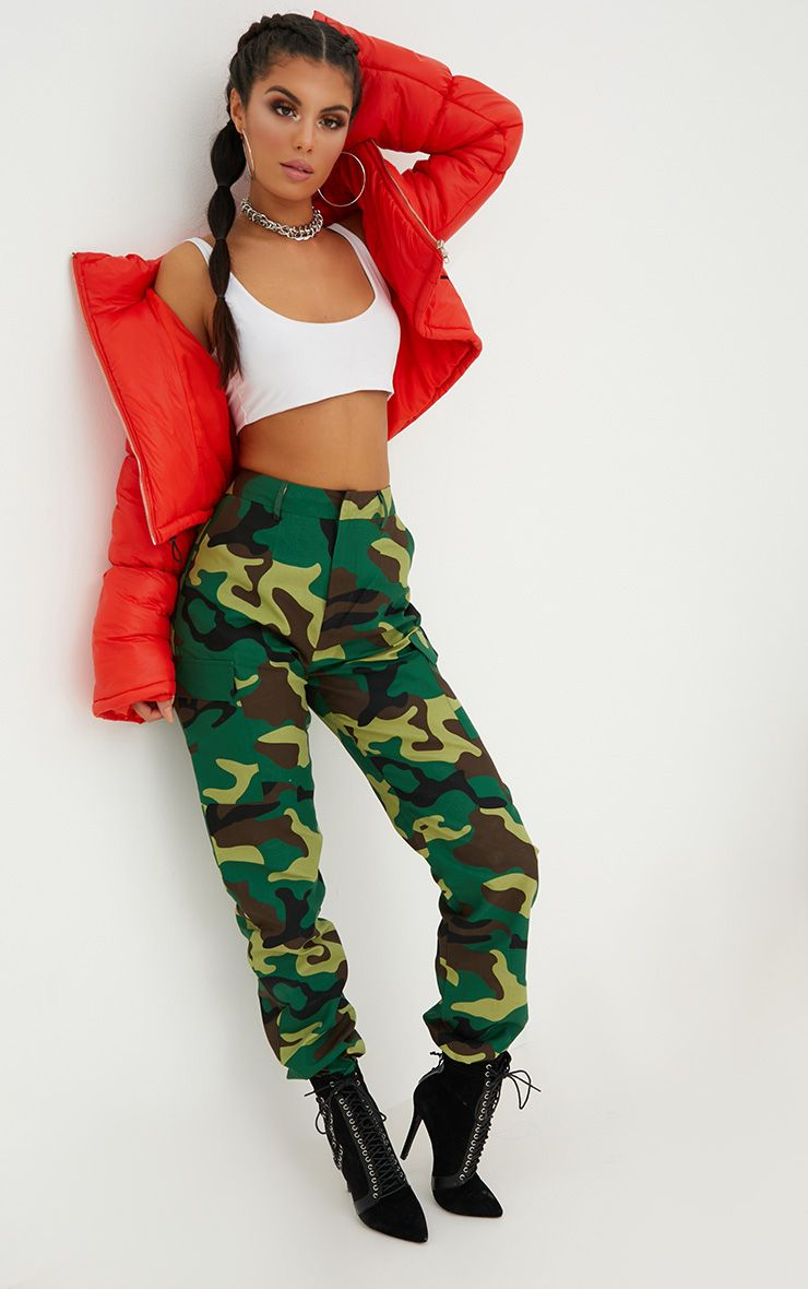 Dress Evening Wear Camo Pants