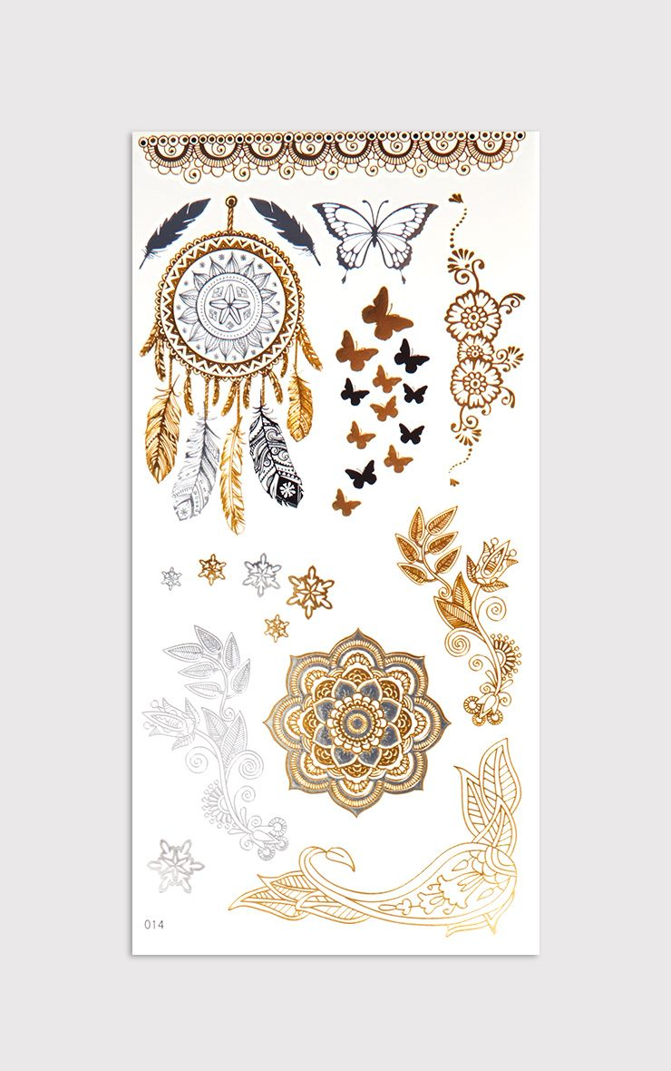 Assorted Gold Tattoo Kit 1